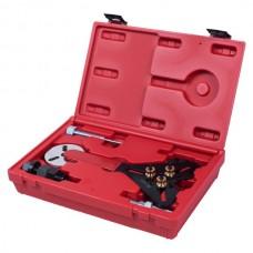 Набор для обслуживания компрессора кондиционера, кейс, 8 предметов МАСТАК 105-30008C