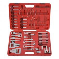 Набор для демонтажа панели приборов и медиа устройств, кейс, 52 предмета МАСТАК 108-00052C