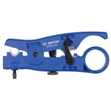 Стриппер для снятия изоляции и резки многожильного и плоского кабеля UTP, STP, RJ KING TONY 6755-05