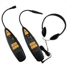 Детектор утечек, ультразвуковой, кейс, 3 предмета МАСТАК 105-90003C