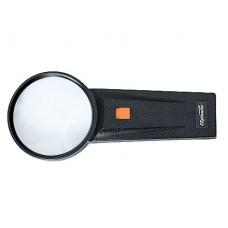 Лупа 4-х кратная, D 70 мм, с подсветкой, с рукояткой SPARTA