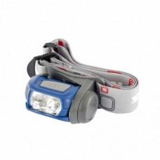 Фонарь налобный Sport, ABS пластик, CREE XP-E LED 3 Вт 120 лм + 3 эко LED, 8-18 часов, 3хААА Stern