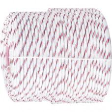 Фал плетёный полипр. 16-прядный с полипр. серд. 6 мм, бухта 100 м, 320 кгс  СИБРТЕХ