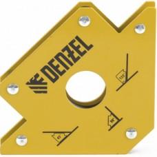 Фиксатор магнитный для сварочных работ усилие 50 LB Denzel