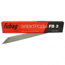 Электрод сварочный с рутиловым покрытием Fubag FB 3 D 2.5 мм