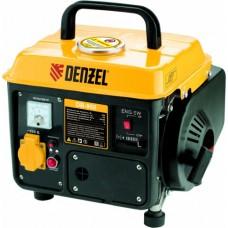 Генератор бензиновый DB950, 0,75 кВт, 220В/50Гц, 4 л, ручн. пуск Denzel 94650