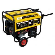 Генератор бензиновый GE 4500Е, 4,5 кВт, 220В/50Гц, 25 л, электростартер Denzel 94683