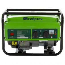Генератор бензиновый L 2500, 2,4 кВт, 220В/50Гц, 15 л, ручной старт  СИБРТЕХ