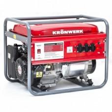 Генератор бензиновый LK 6500,5,5 кВт, 220В, бак 25 л, ручной старт  KRONWERK