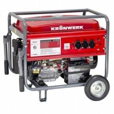 Генератор бензиновый LK 6500E,5,5 кВт, 220В, бак 25 л, электростартер  KRONWERK
