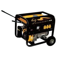 Генератор газ/бензин DG5500Е, 5 кВт, 220В/50Гц, электростартер DENZEL