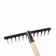 Грабли 12-зубые, 300мм, с черенком, витые  СИБРТЕХ