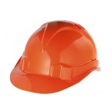 Каска защитная из ударопрочной пластмассы, оранжевая СибрТех 89113