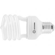 Лампа компактная люминесцентная, полуспиральная, 15W, 4100K, E27, 8000ч., Stern