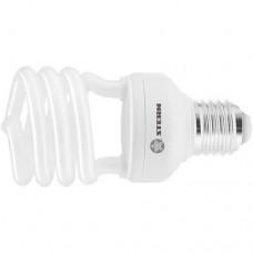 Лампа компактная люминесцентная, полуспиральная, 20 W, 4100K, E27, 8000ч Stern