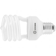 Лампа компактная люминесцентная, полуспиральная, 26W, 4100K, E27, 8000ч., Stern