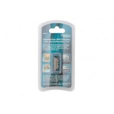Лезвия МИНИ, 9 мм, трапециевидные, пластиковый пенал, 15 шт.  GROSS