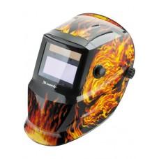 Лицевой щиток MATRIX Пламенная с автозатемнением 89137