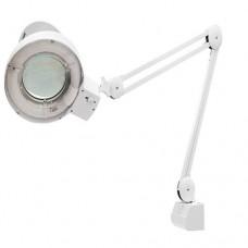 Лупа с подсветкой 3-х кратная, D 125 мм, со струбцинным креплением к столу  MATRIX
