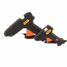 Набор клеевых пистолетов в кейсе SPARTA 93038  7/11 мм, 20/100 Вт, 3/8 г./мин., выключатель