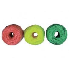 Набор шпагатов полипропиленовых, 6 шт.х 60 м, разные цвета, 1200 текс, 50 кгс  СИБРТЕХ