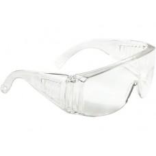 Очки защитные открытого типа, прозрачные, ударопрочный поликарбонат СибрТех 89155