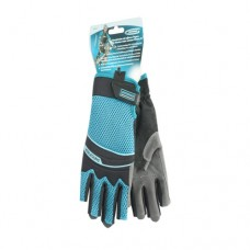 Перчатки комбинированные облегченные, открытые пальцы, М Gross 90315