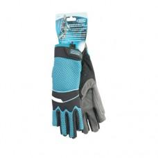 Перчатки комбинированные облегченные, открытые пальцы, XL Gross 90317
