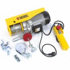 Тельфер электрический TF-800, 0, 8 т, 1300 Вт, высота 12 м, 8 м/мин  DENZEL