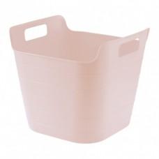 Ведро гибкое сверхпрочное 26 л, розовое  Сибртех