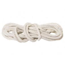 Веревка х/б, D 18 мм, L 11 м, крученая, 567 кгс  СИБРТЕХ