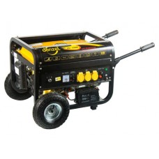 Генератор газ/бензин DG3500Е, 2.8 кВт, 220В/50Гц, электростартер DENZEL