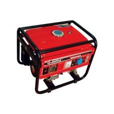 Генератор бензиновый, 3,0–3,5 кВт, 220В/50Гц, 12В/DC, ручн. пуск, бесщет.  MATRIX