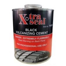 Клей черный для горячей вулканизации 1 л. X-TRA SEAL 14-515