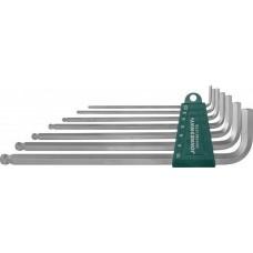 H06SM107S Набор ключей торцевых шестигранных удлиненных с шаром, 7 предметов