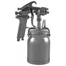 "JA-507S Пистолет покрасочный ""Краскопульт"", бачок нижний металлический 1 л, дюза 1.6 мм"