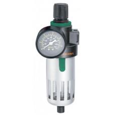 """JAZ-0534 Фильтр-сепаратор с регулятором давления для пневматического инструмента 1/2"""""""