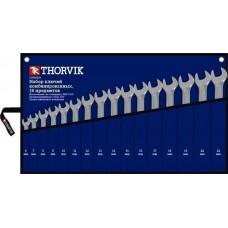 CWS0016 Набор ключей гаечных комбинированных в сумке, 6-24 мм, 16 предметов