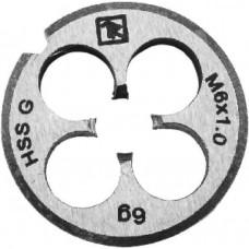 MD407 Плашка D-COMBO круглая ручная М4х0.7, HSS, Ф20х5 мм