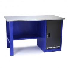 Стол для слесарных работ 1400 мм однотумбовый без экрана