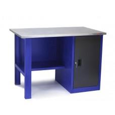 Стол для слесарных работ 1200 мм однотумбовый без экрана