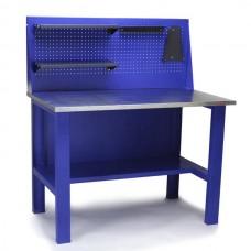 Стол для слесарных работ 1200 мм с экраном