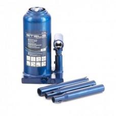 Домкрат гидравлический бутылочный телескопический, 4 т, h подъема 190-480 мм Stels