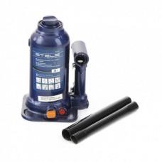 Домкрат гидравлический бутылочный телескопический, 4 т, подъем 170-420 мм Stels